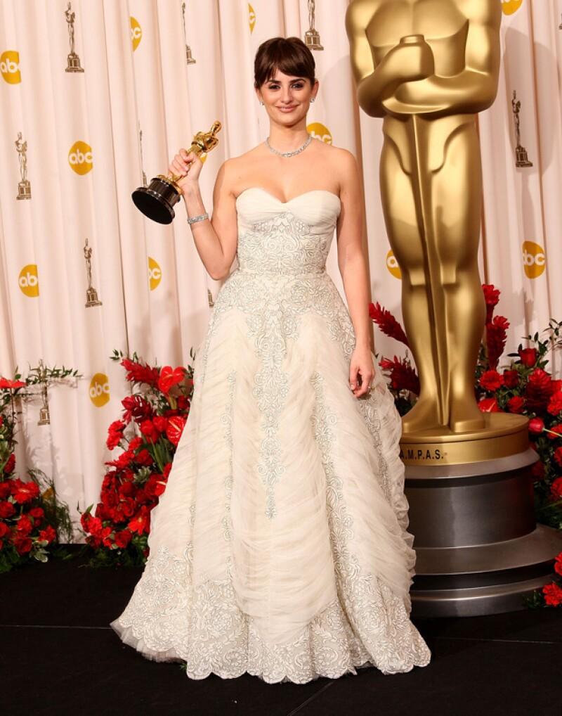 En 2009 ganó un premio Oscar por Mejor Actriz de reparto.