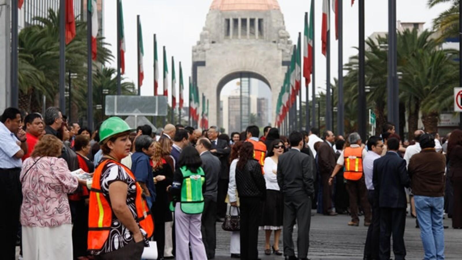 simulacro terremoto df 2011