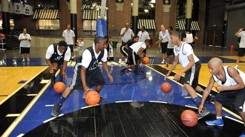 basquetbol niños