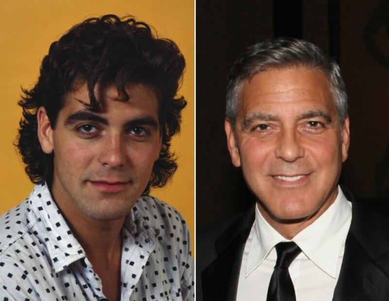 Definitivamente, George Clooney en 1985 no es tan atractivo como el de hoy en día.
