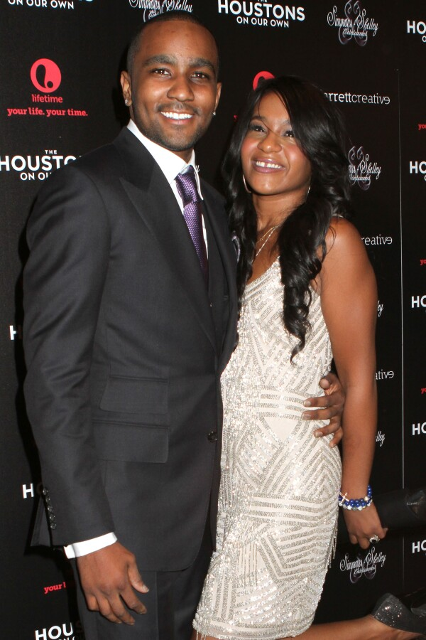 Nick Gordon y Bobbi Kristina Brown