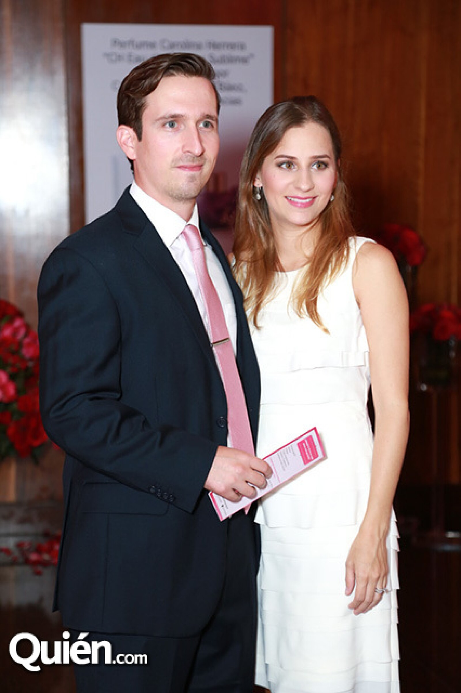 Alex Martínez y Carmen Baxter