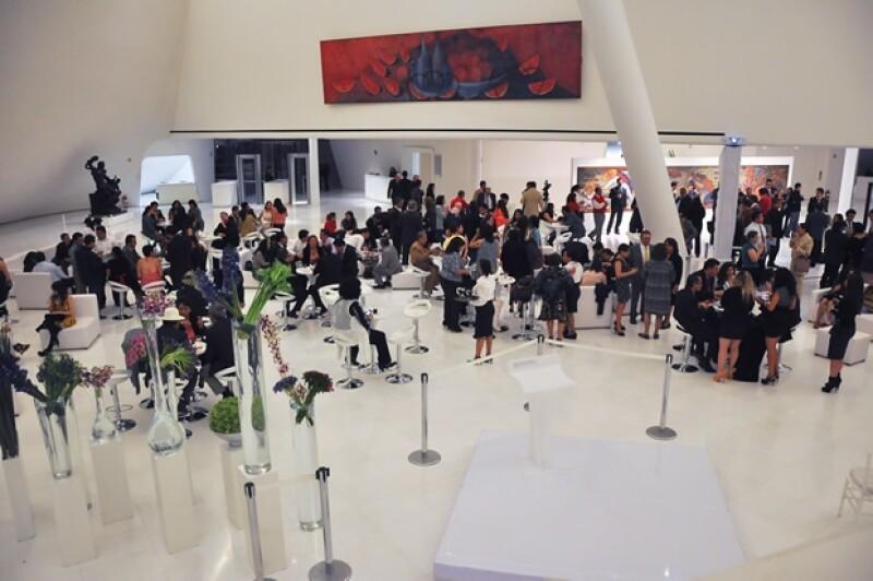 `Nos da mucho gusto que el público visite este recinto´, comentó el empresario durante el festejo del museo en  Plaza Carso.