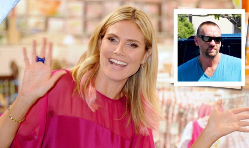 La modelo alemana acudió al programa de Ellen DeGeneres donde platicó acerca de su nueva relación amorosa con su ex trabajador Martin Kirsten.