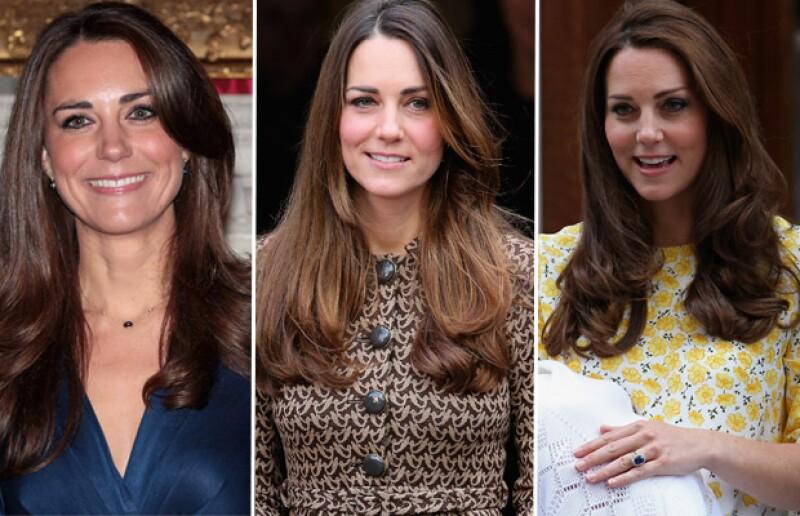 Los últimos años Kate había sido fiel a la melena castaña degrafilada.