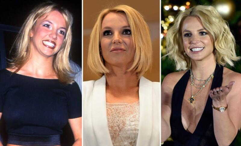Desde muy joven, Britney ha sabido usar el corte bob para certar en sus looks, usándolo ya sea con fleco, en ondas o lacio.