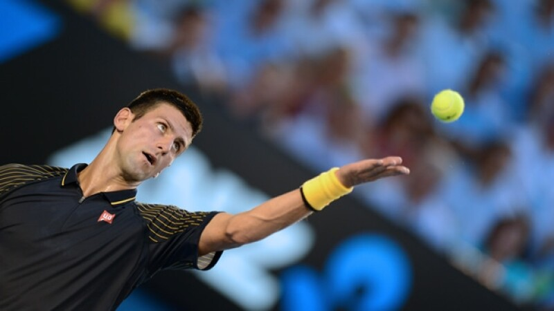 Novak Djokovic, semifinal Abierto de Australia 2013