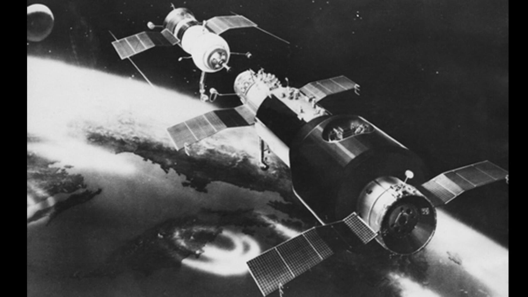 Soyouz 11 Salyut 1 primera estacion espacial