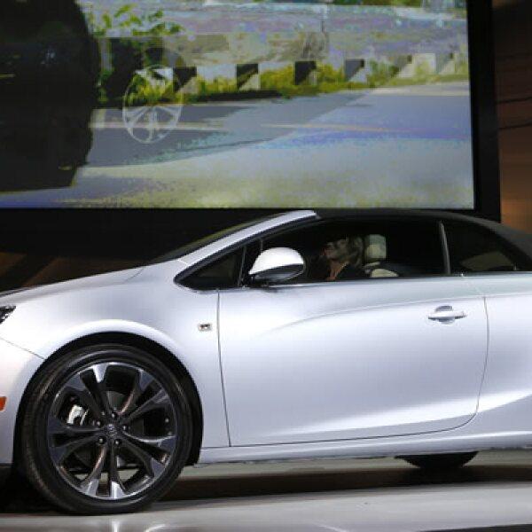 General Motors presentó este modelo de dos puertas.