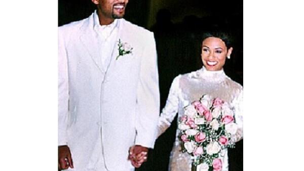 Will y Jada se juraron amor eterno en 1997.