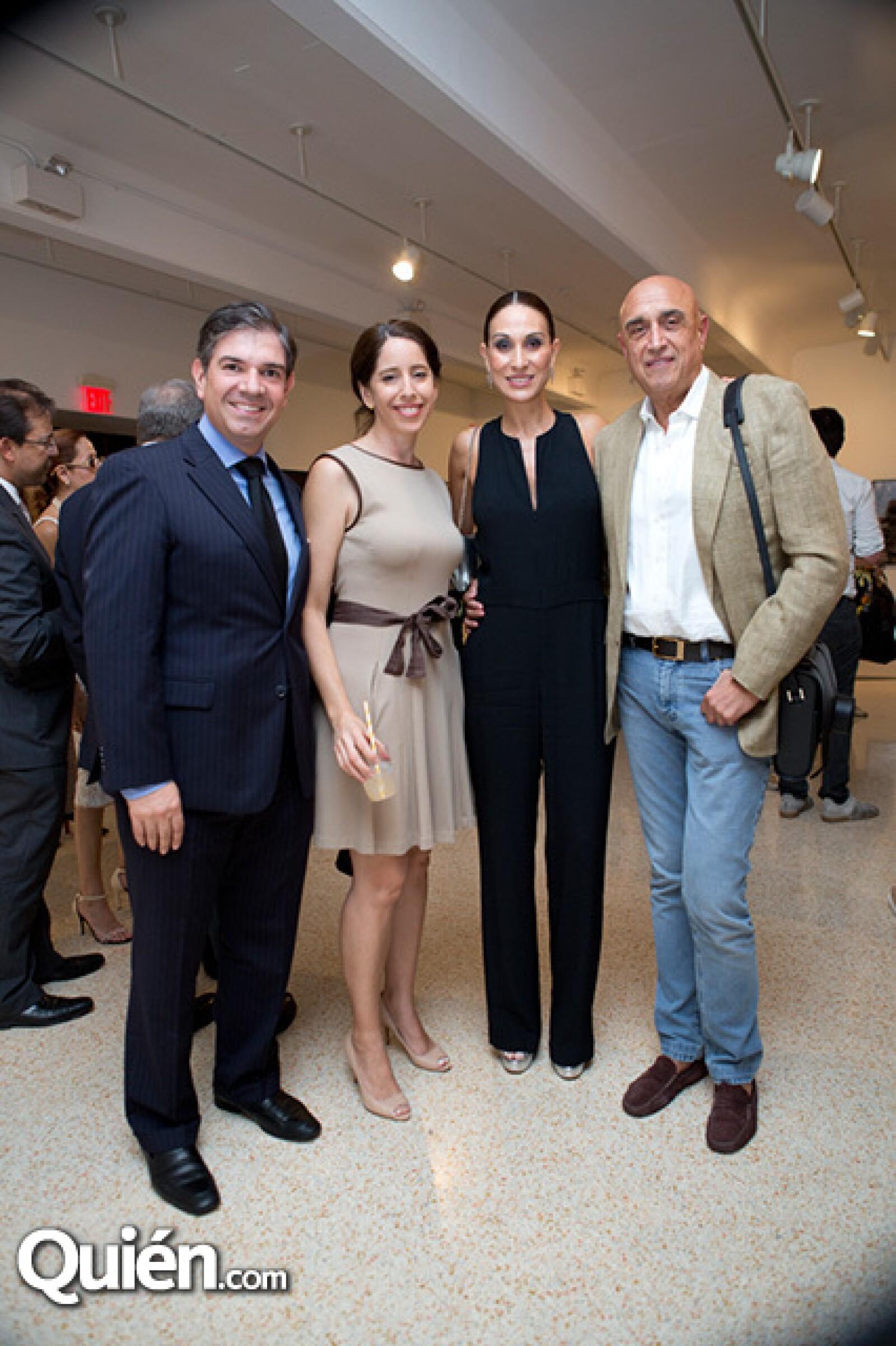 Francisco de la Llama,Carolina Aguirre,Roberta López Negrete y Pedro Torres