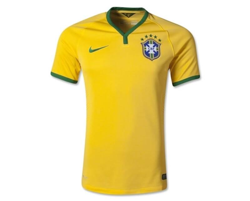 La camiseta de Brasíl ha sido la favorita de muchos desde hace tiempo.