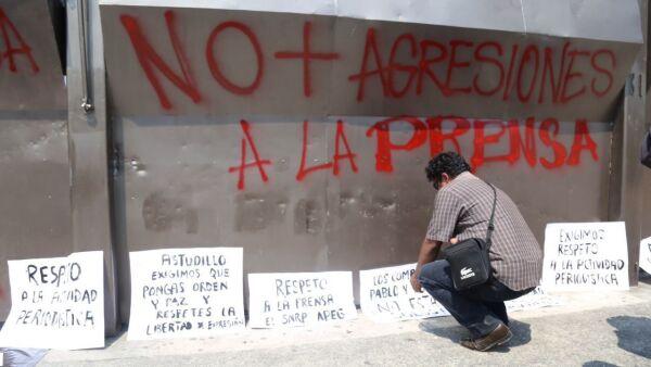 Periodistas agredidos en Guerrero