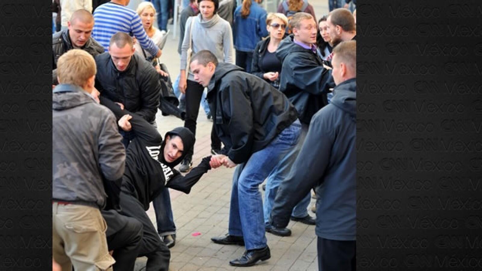 Bielorrusia - protestas - detenidos
