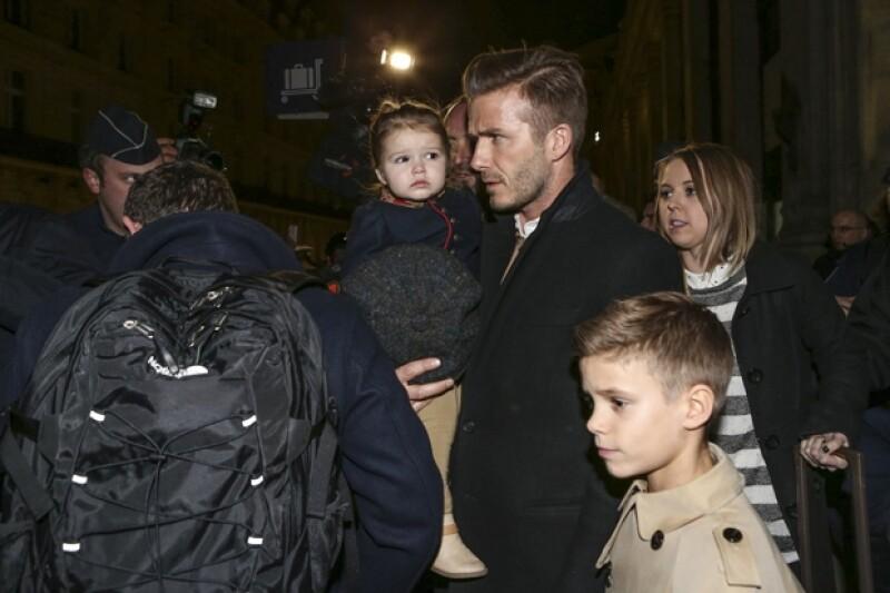 A su salida, la familia se veía satisfecha y lista para regresar a su hogar.