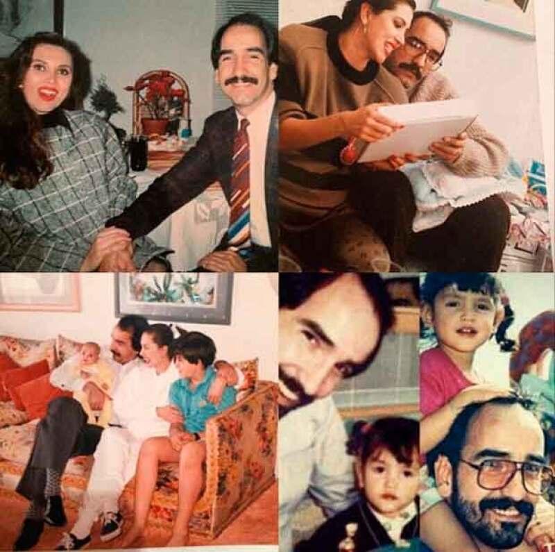 Algunos de los mejores momentos de Eiza en familia.