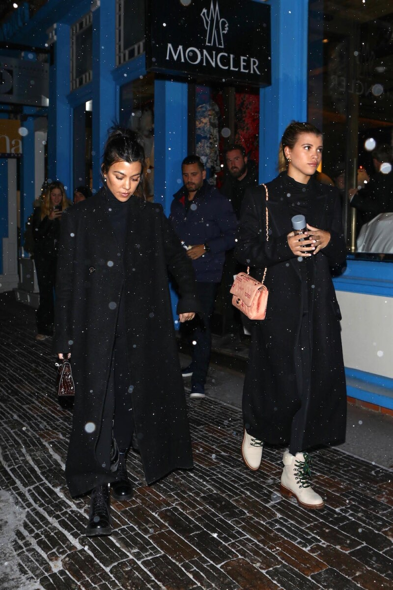 EXC Sofia Richie, Scott Disick, Kourtney Kardashian