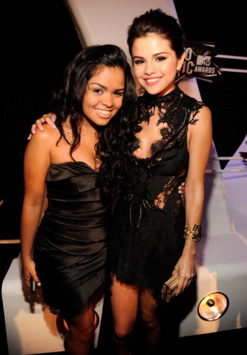 Selena encontró en su prima a su mejor amiga.