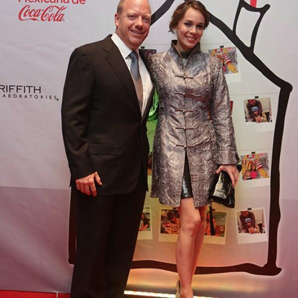Sven Wallsten y Fabiola Arango