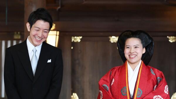 boda Princesa Ayako de J