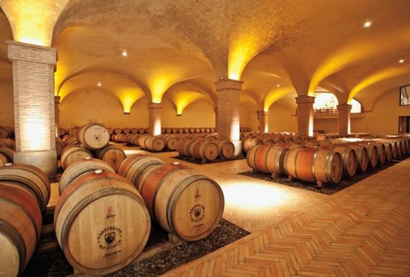 LA CAVA. En Castiglion del Bosco se produce el mejor Brunello de la región.