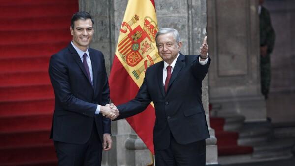 López Obrador AMLO Pedro Sánchez