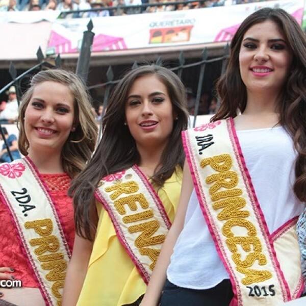 Stephania Franco,Ana Karen Romo y Silvia Pérez