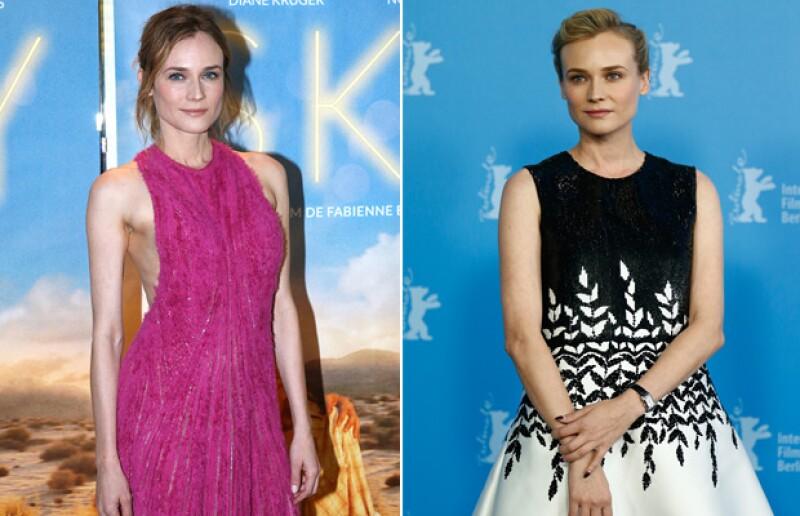 Los brazos y la cintura de la actriz lucen considerablemente más delgados.