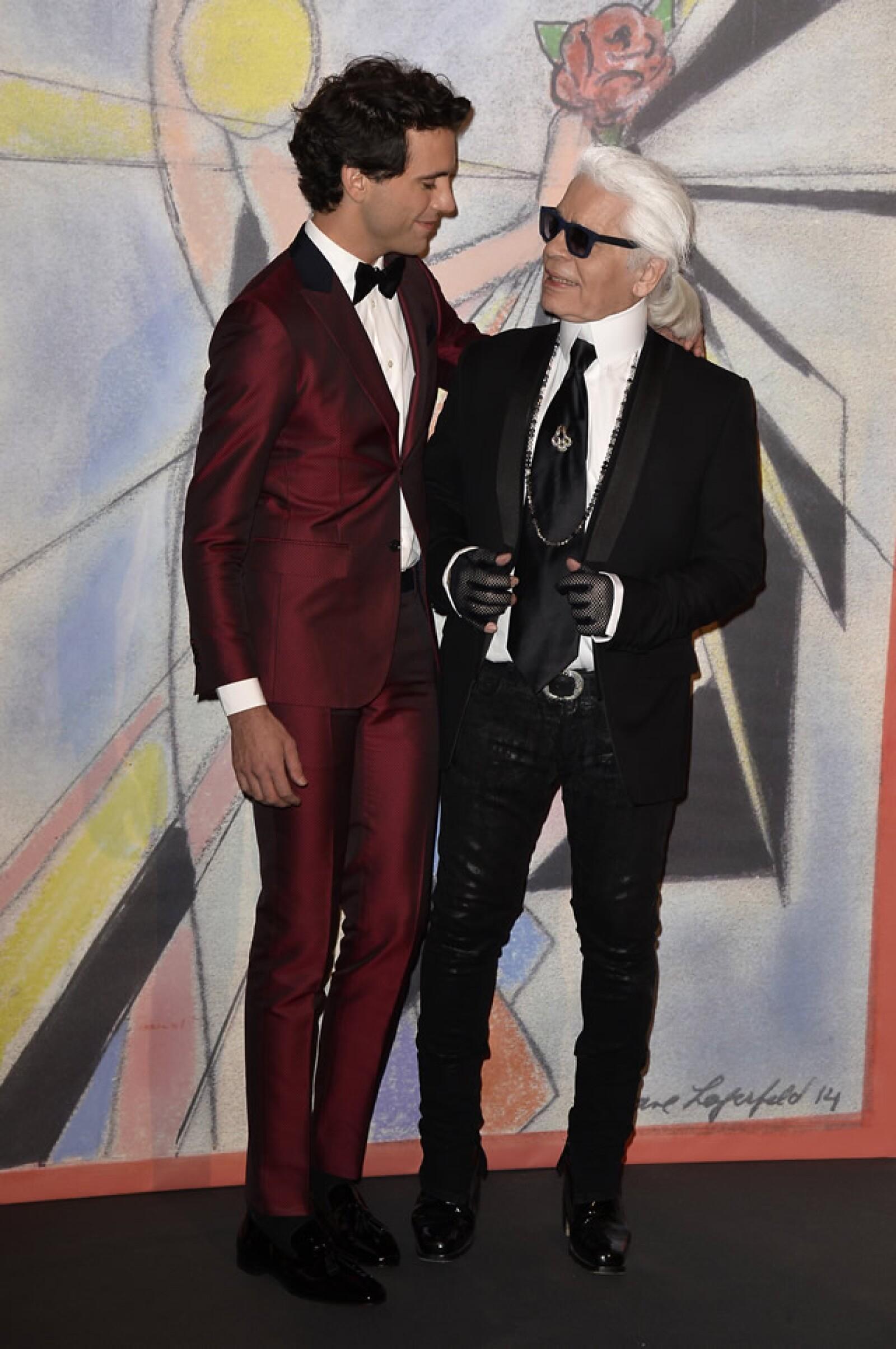 Mika, Karl Lagerfeld