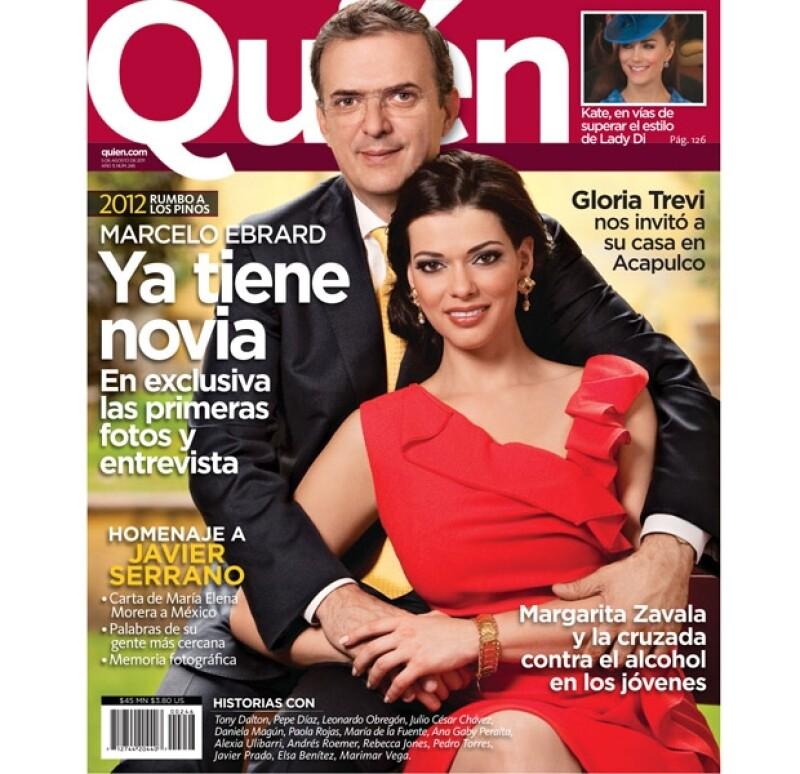 El Jefe de Gobierno capitalino presentó a su novia, Rosalinda Bueso, en exclusiva para la revista Quién y nos contó cómo se enamoró de ella.