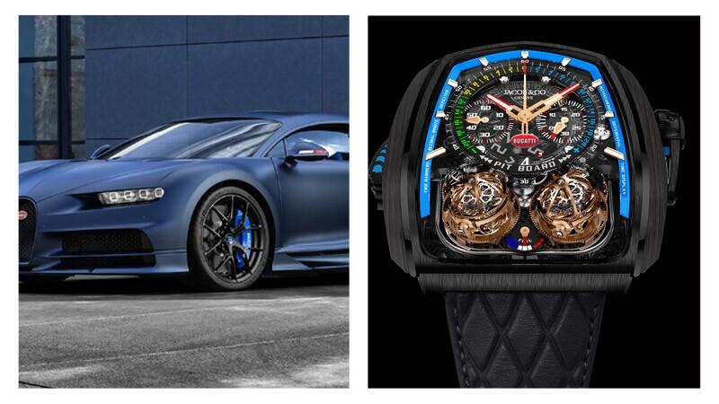 Jacob & Co lanza Epic X Chrono con Bugatti