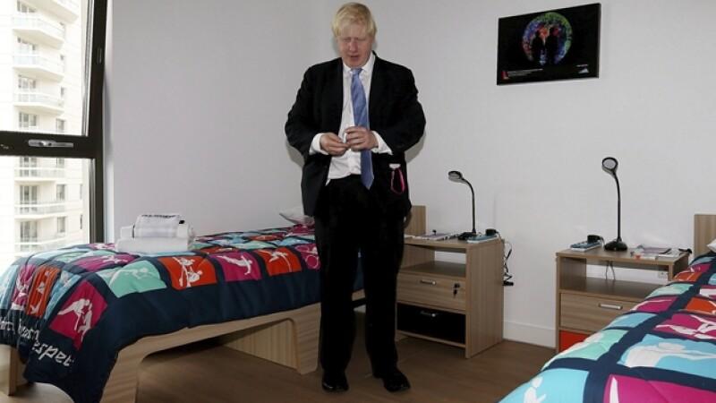 El alcalde de Londres, Boris Johnson,