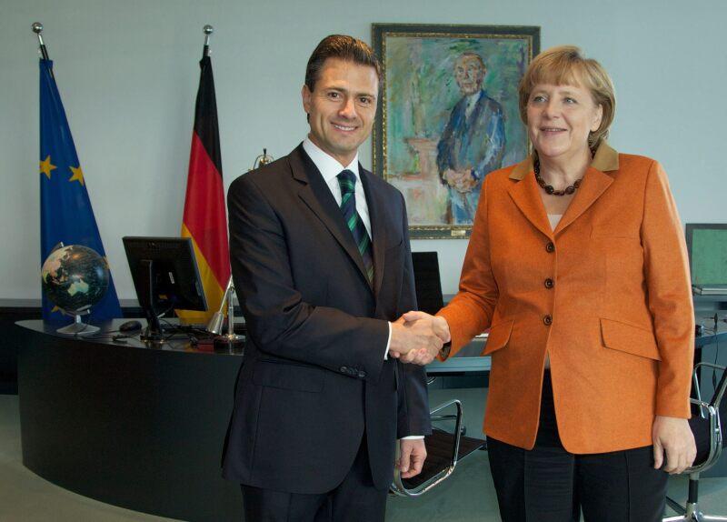 Enrique Peña y Angela Merkel se reunirán en Berlín para abordar temas como colaboración económica y de desarrollo.