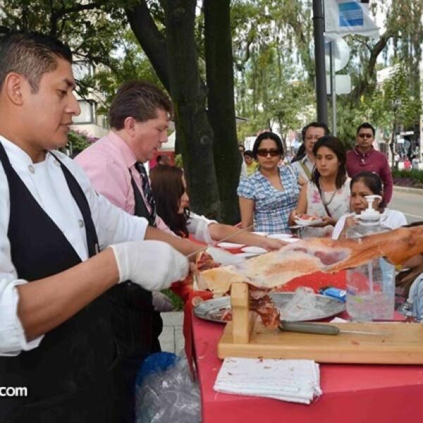 Degustación de jabubo del restaurante Torre de Castilla