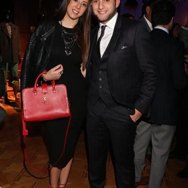 Lilia Michan y Freddy Sacal