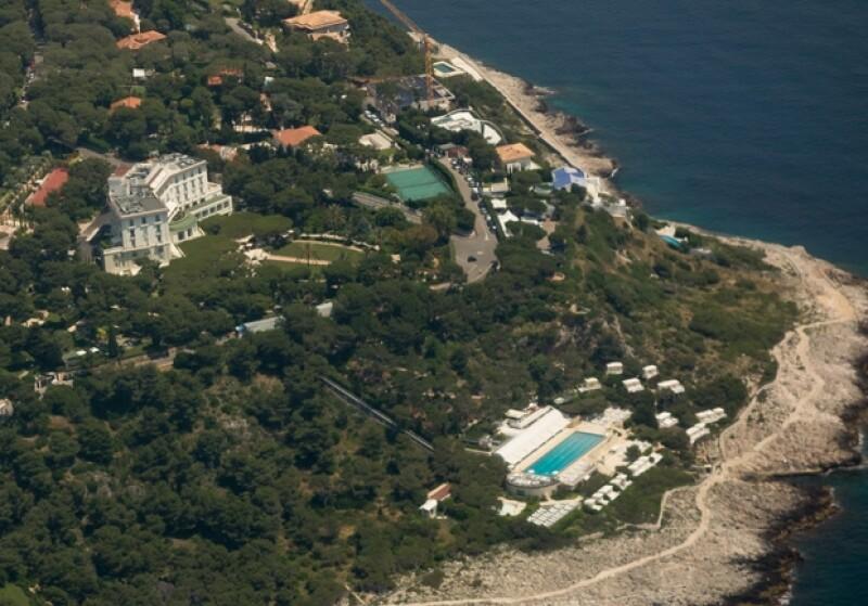 El hotel Grand Hotel du Cap Ferrat que Tamara y su prometido Jay Rutland rentaron en su totalidad para llevar a cabo su enlace.
