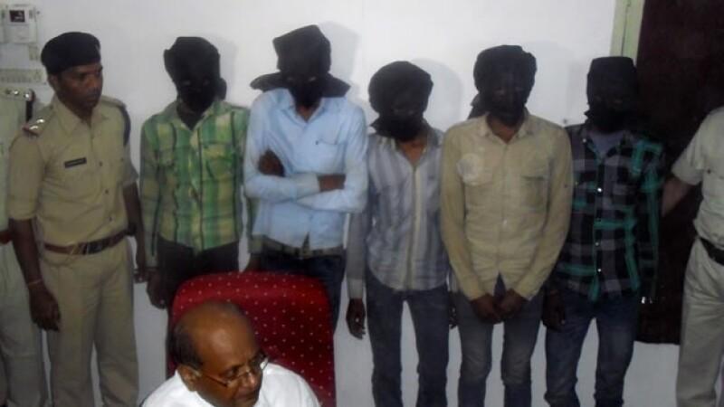 Presuntos violadores de una turista suiza en india
