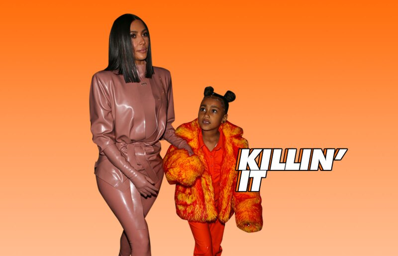 kim-kardashian-north-west-paris-fashion-week
