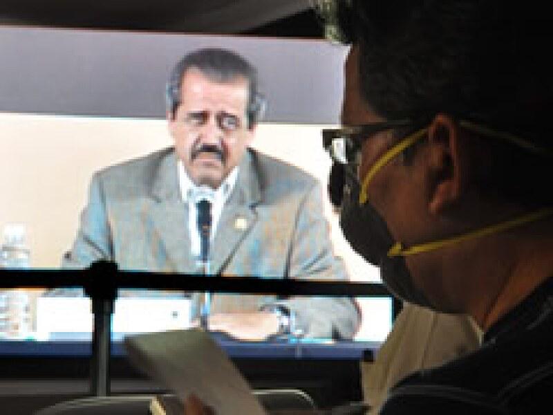 José Ángel Córdova, secretario de Salud, dijo que los casos de contagio se han registrado en 26 estados del país. (Foto: NTX)