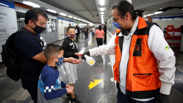 Coronavirus en el Metro
