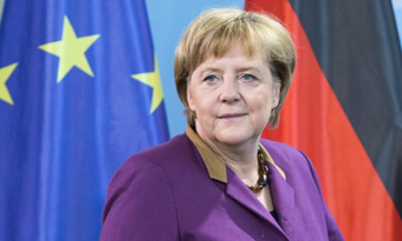 Angela Merkel defendió el derecho de los griegos a manifestarse luego de las protestas en  su contra. (Foto: AP)