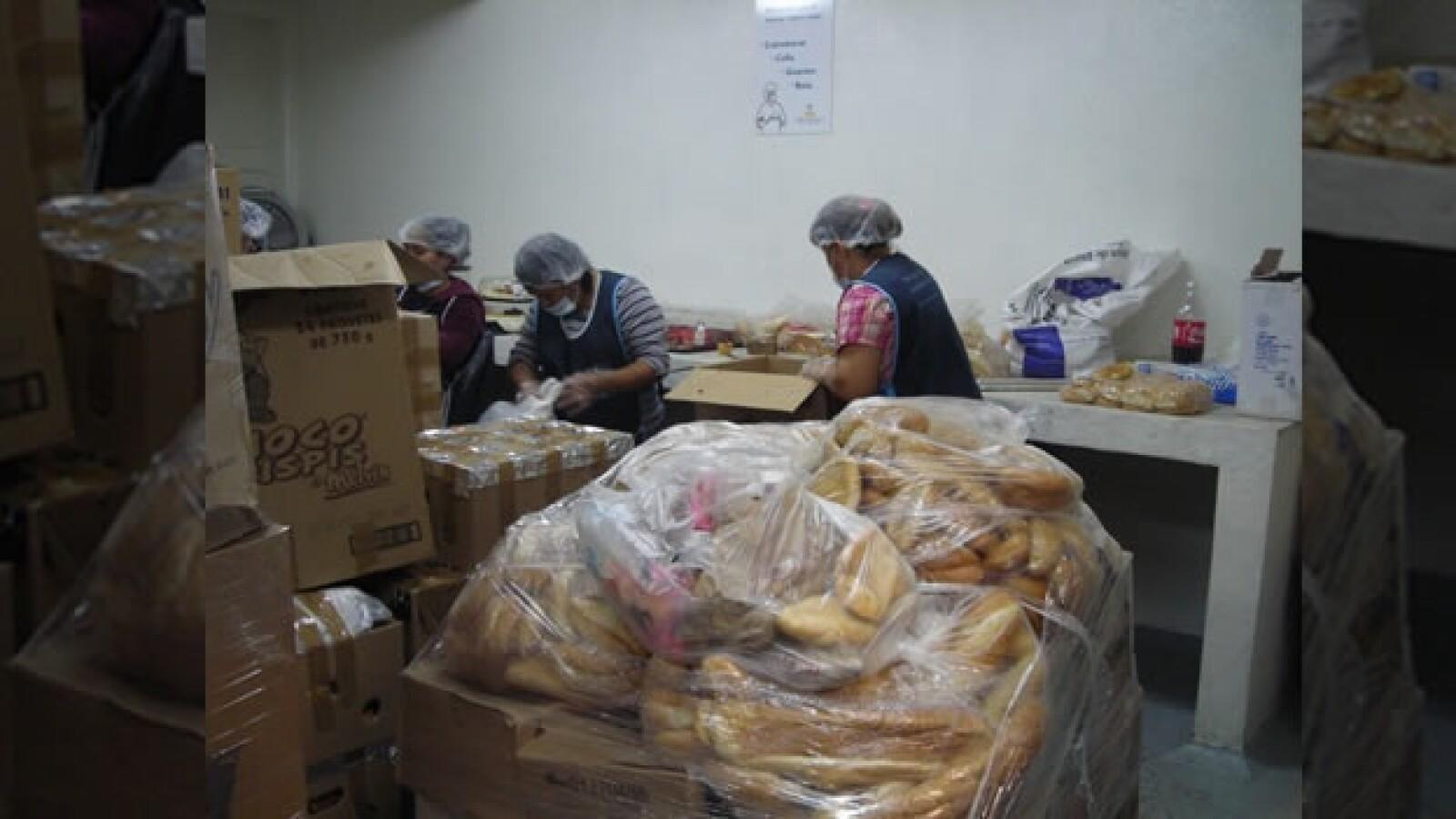 banco de alimentos programa mujeres embarazadas