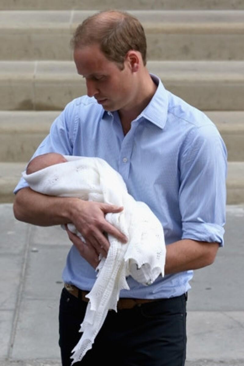 El esposo de Kate Middleton comentó que ha desarrollado un instinto más protector, algo que no había experimentado.