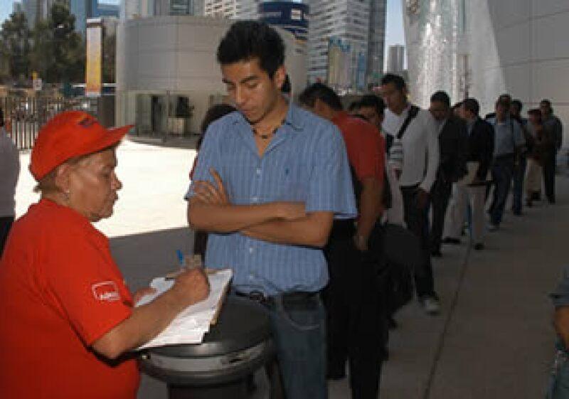 La tasa de desocupación en los hombres aumentó a 4.71% en el mismo período. (Foto: Notimex)
