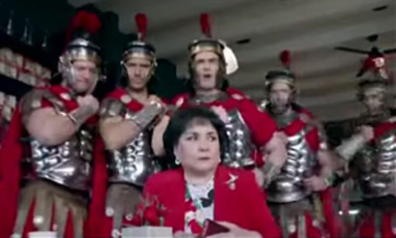La campaña de Galletas Emperador tuvo éxito en sus consumidores al utilizar la figura de la actriz Carmen Salinas. (Foto: YouTube)