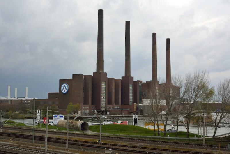 Volkwagen factory in Wolfsburg