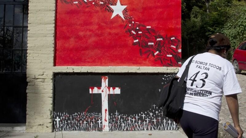 Madre de normalista de Ayotzinapa desaparecido