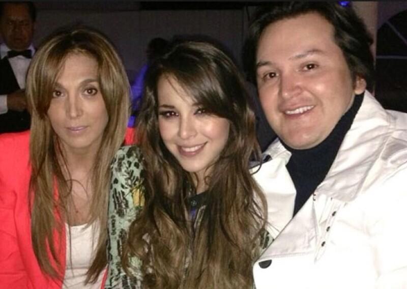La cantante compartió su celebración tanto con sus amigos como con sus representantes, quienes la felicitaron mucho en este día.