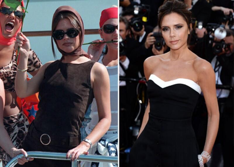 ¿Cuál de las dos versiones de Victoria Beckham te gusta más?