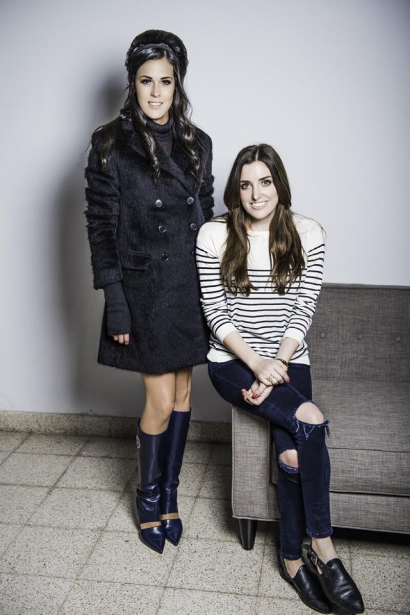 Lorena Lafaure con Sofía Lascurain